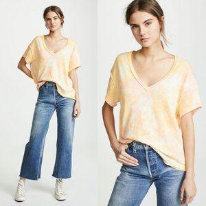 NWT Free People All Mine Orange Tie Dye SS T-Shirt